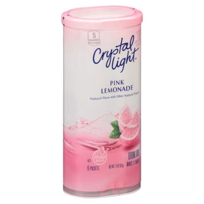 Crystal Light Sugar Free Pink Lemonade    NEW LOWER PRICE