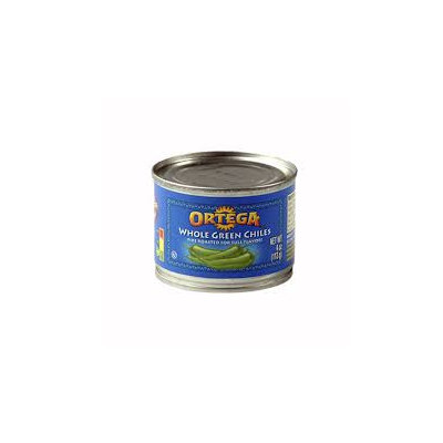 Ortega Diced Green Chillies 4oz