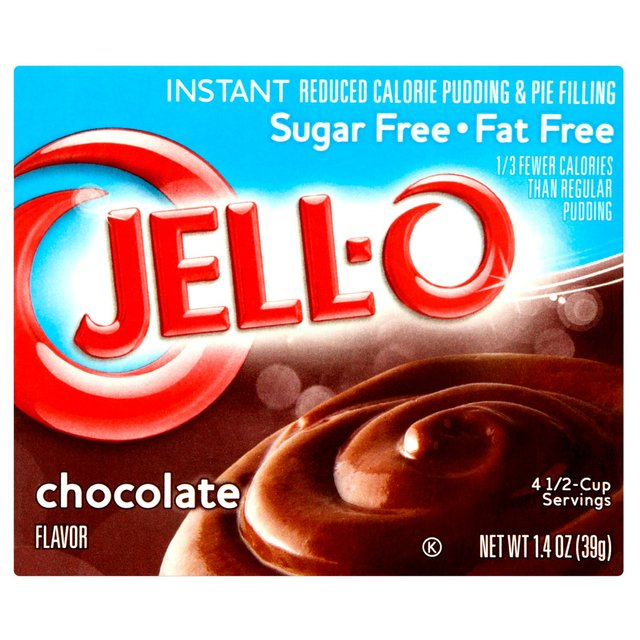Jell-O Instant Sugar Free Pudding Choc