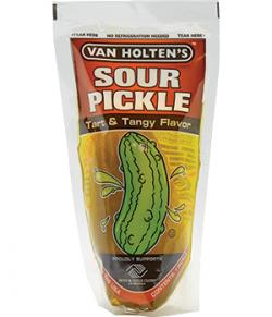 Van Holtens Jumbo Pickle - Sour Dill