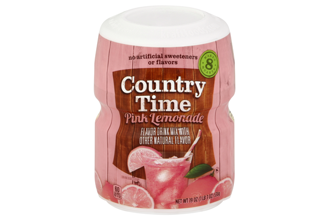 Country Time Pink Lemonade    BACK INTO STOCK AT NEW LOWER PRICE